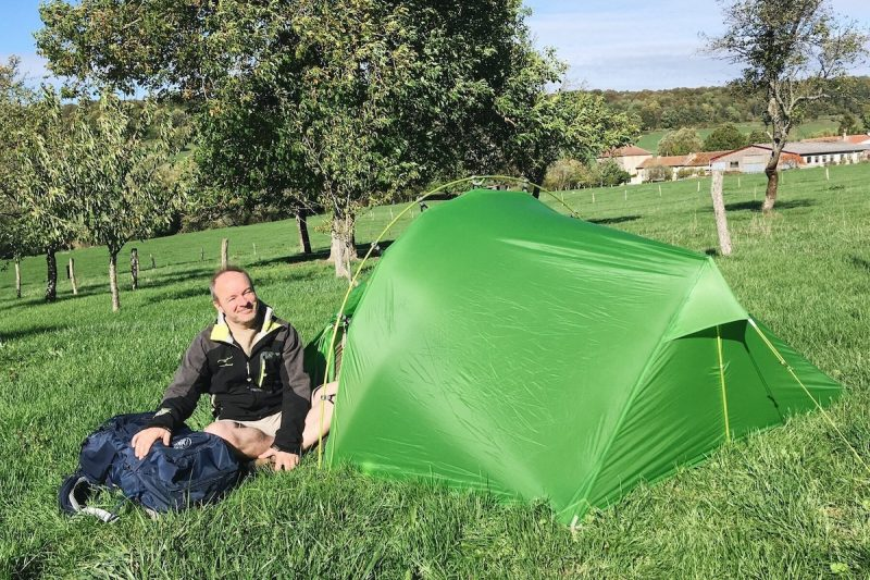 test tente Vaude power lizard SUL 2-3P